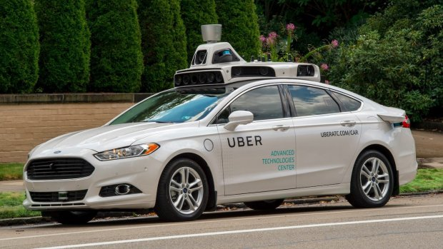 Uber: mensen maken obscene gebaren naar zelfrijdende auto's