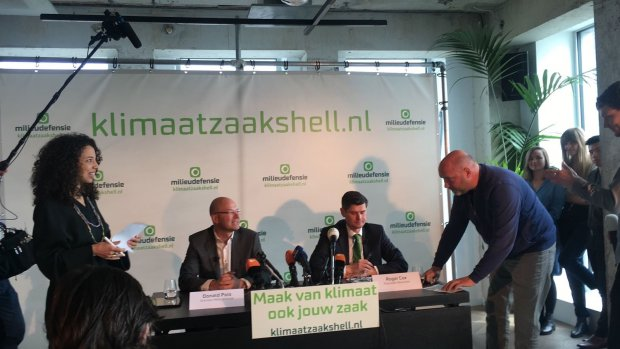 Milieudefensie eist totale afbouw uitstoot Shell