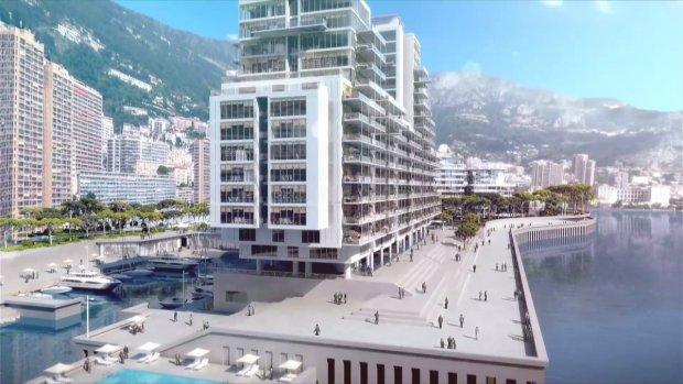 In Monaco komen appartementen van een ton per vierkante meter