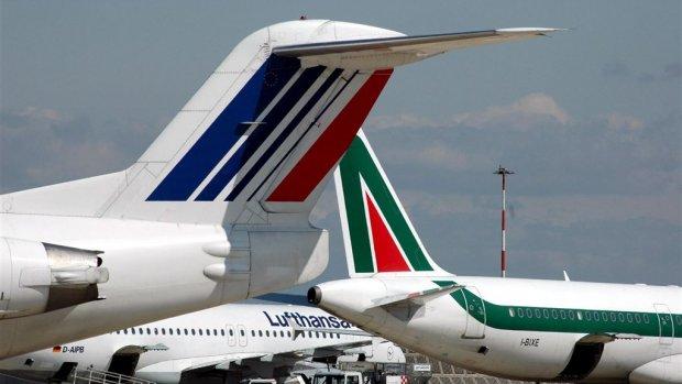 'Air France-KLM en easyJet bieden samen op Alitalia'