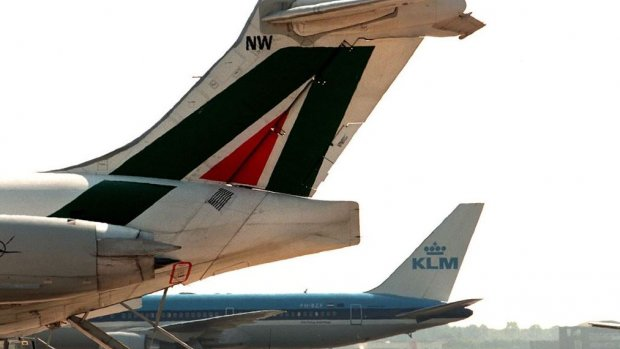 'Overname Alitalia is riskant voor Air France-KLM'