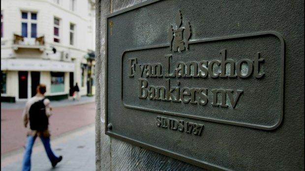 Beloningsbeleid Van Lanschot 'absurd' en slecht voor vertrouwen