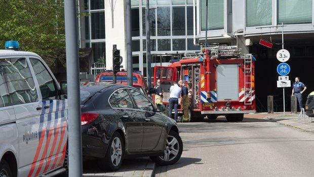 Twee gewonden door brand bij inlichtingendienst AIVD