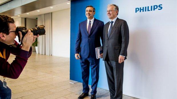 Omzet Philips omhoog, winst omlaag