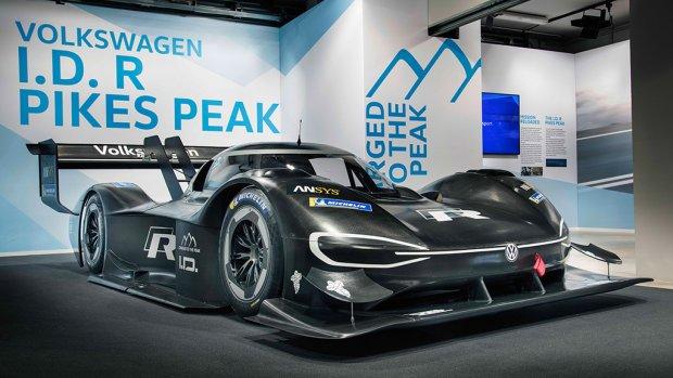 Deze elektrische Volkswagen gaat de berg op racen