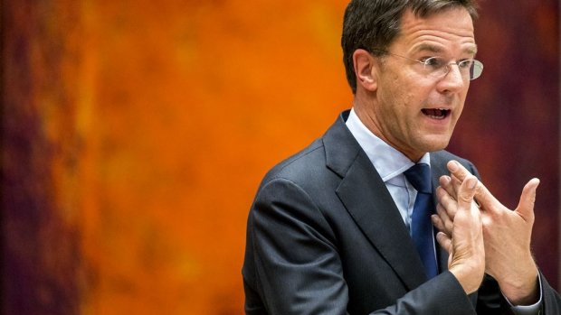 Rutte nog geen moment in problemen tijdens debat dividenbelasting