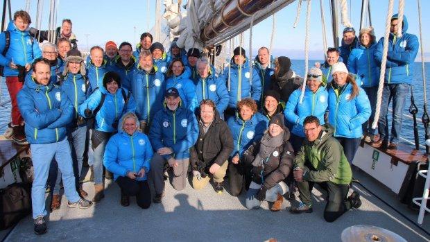 Klimaatreis naar Noordpool: 'Zonder afleiding de verdieping in'