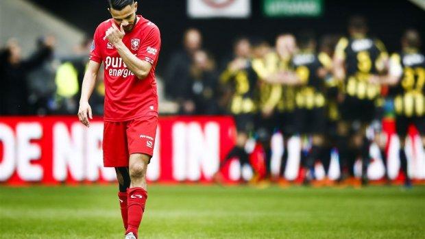 FC Twente degradeert naar eerste divisie