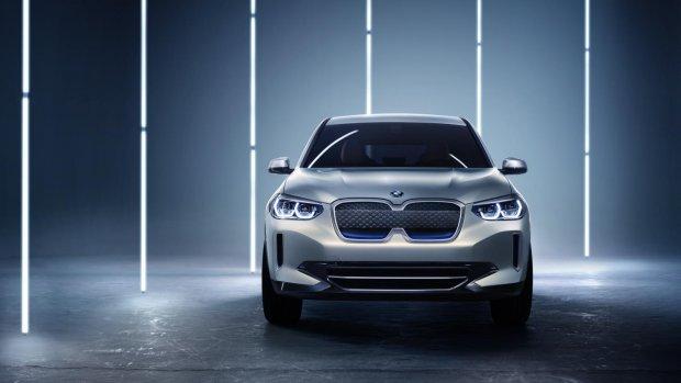 iX3-concept: de nieuwe elektrische BMW