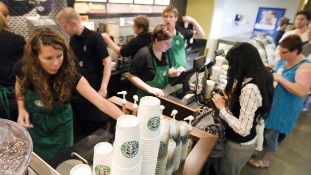 Starbucks wil dat je lege koffiebekers komt inleveren