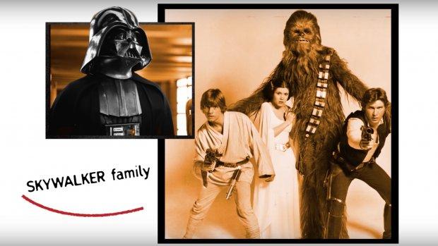 Star Wars meets Arrested Development