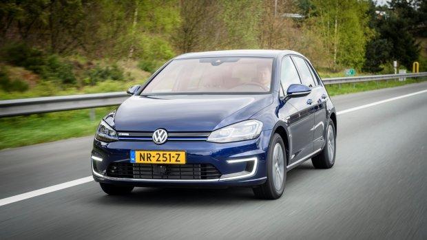 Volkswagen e-Golf best verkochte elektrische auto in Nederland