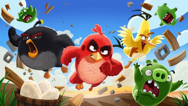 Angry Birds speel je nu ook met vrienden