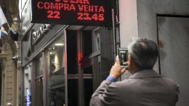 Argentinië wil peso redden met miljardenlening van IMF