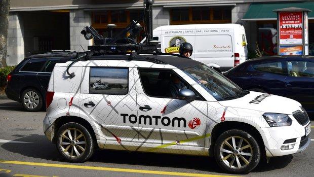 Aandeel TomTom sluit 16 procent lager na vertrek Volvo