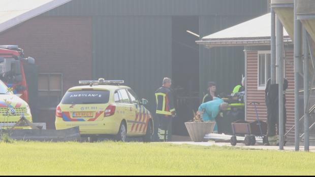 Twee mensen vallen in mestput bij boerderij Oldehove