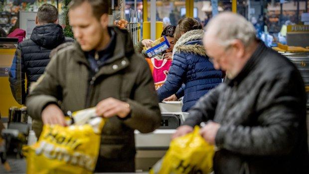 'Boodschappen in één jaar 8 procent duurder geworden'