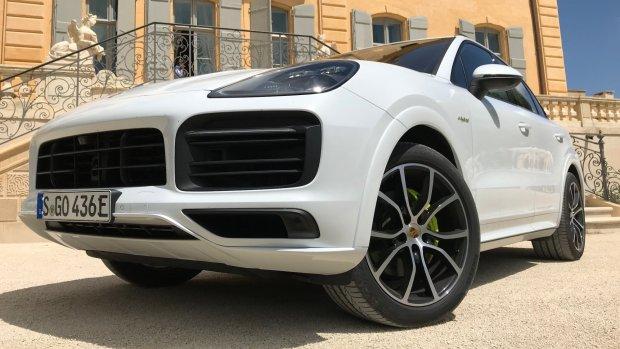 Op pad met de nieuwe Porsche Cayenne e-Hybrid