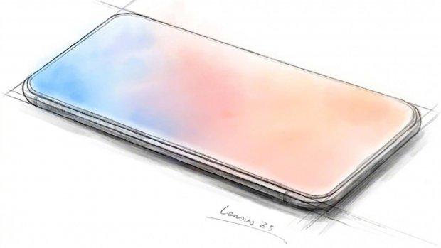 Lenovo toont smartphone zonder schermranden