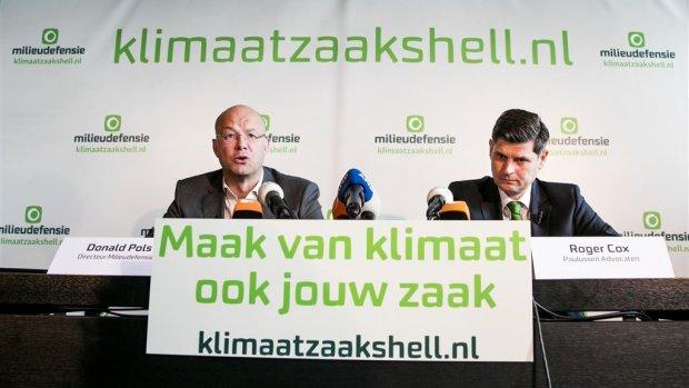 Zeker 10.000 mensen steunen klimaatzaak tegen Shell