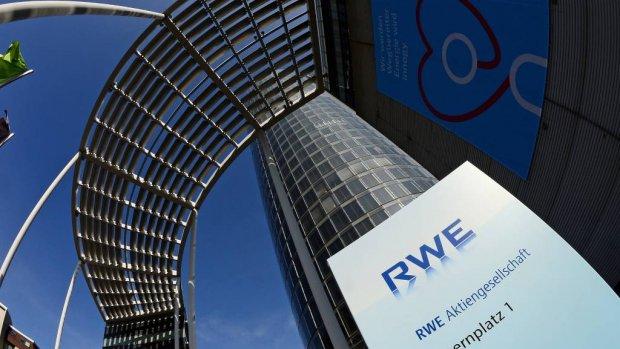 Dalende energieprijzen zitten RWE dwars
