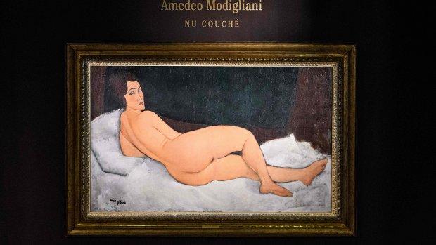 Naaktportret Modigliani verkocht voor 157,2 miljoen dollar