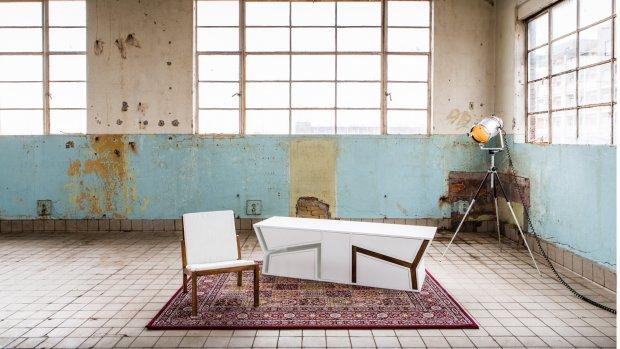 Tafel, stoel en kast in één