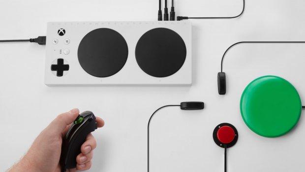 Nieuwe Xbox-controller voor spelers met beperking
