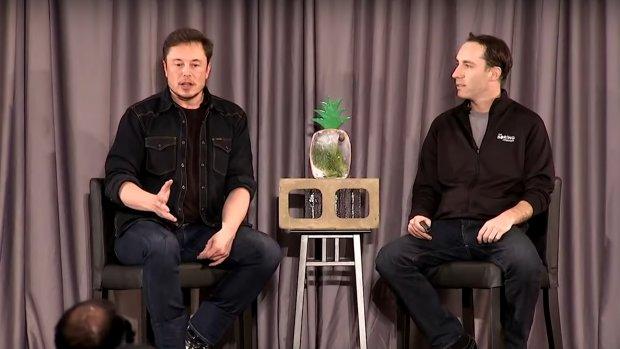 Elon Musk belooft ondergrondse ritten met hyperloop voor 1 dollar