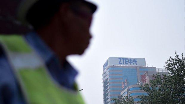 'Deal over opheffen handelsverbod Chinese techgigant ZTE'