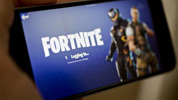 Lek in beveiliging site van game Fortnite