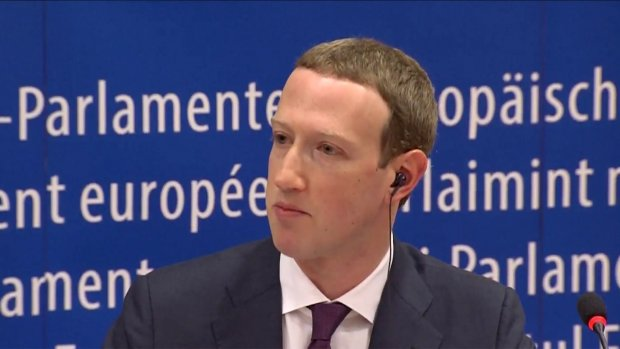 Brussel baalt: Zuckerberg ontwijkt kritische vragen