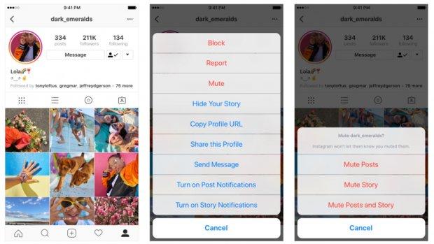 Instagram krijgt eindelijk mute-filter