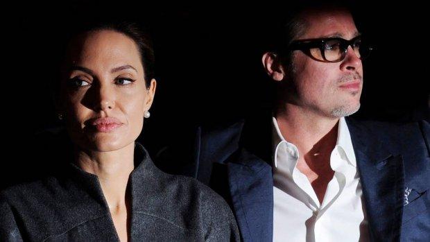 'Brad en Angelina kibbelen over kinderen'