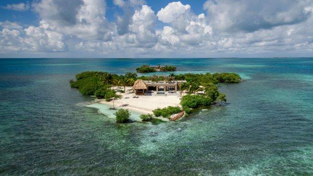 Op dit privé-eiland vier je helemaal alleen vakantie