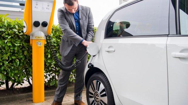 Grote toename laadpunten elektrische auto's in Duitsland