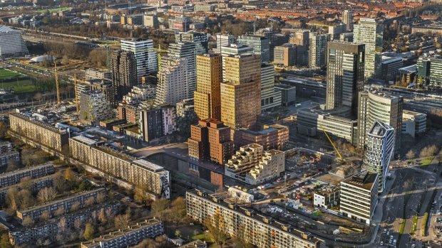 Amsterdamse kantoren in de lift: waardestijging nergens zo groot