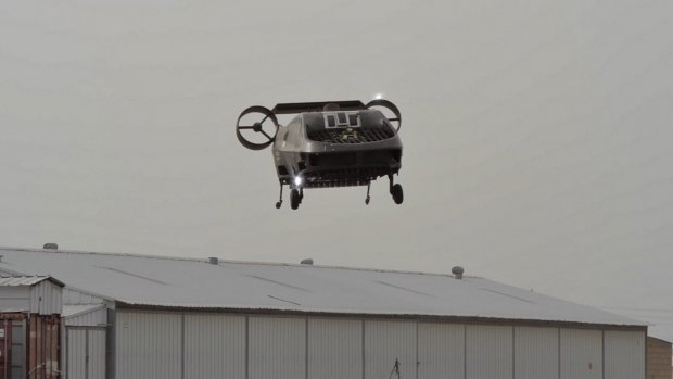 Deze evacuatie-drone moet autonoom mensen redden