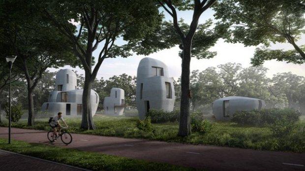 Eindhoven krijgt 3D-geprinte huizen