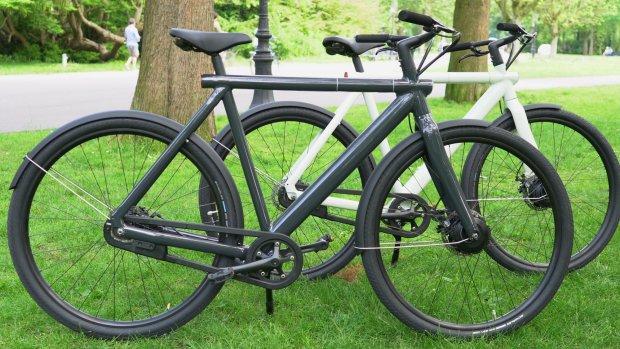 VanMoof: 'Deze fiets zegt tegen de dief: laat mij maar staan'