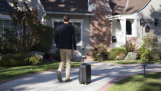 Deze koffer herkent en volgt zijn eigenaar