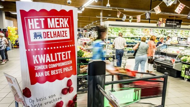 Ahold richt zich met Delhaize in België meer op gemakswinkels