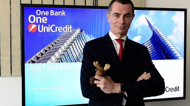 'Fusie UniCredit en SocGen? Niet snel nóg meer bankenfusies'