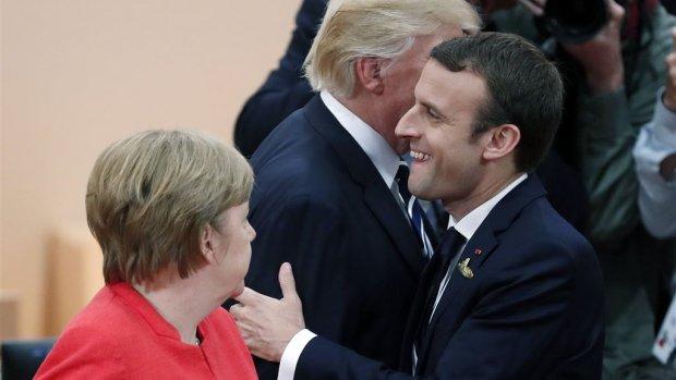 G7 top in Canada: Trump tegen Merkel, Macron, Trudeau en de rest