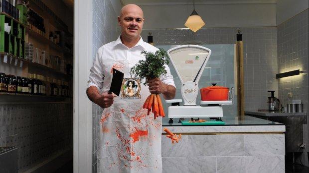 Vegetarische Slager laat 'fans' samples meenemen