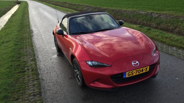 Mazda MX-5 krijgt serieuze power