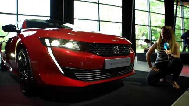 De nieuwe Peugeot 508 zit vol met tech