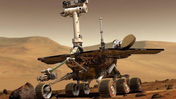 Grote stofstorm op Mars: NASA parkeert wagentje