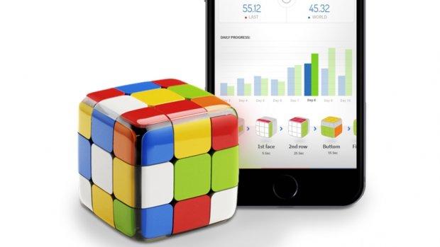 Gelukkig: Rubik's Cube heeft nu ook bluetooth