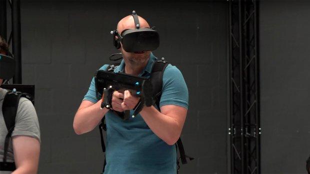 Deze hal in Amsterdam is de toekomst van virtual reality